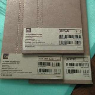 Redmi Note Screen Protector (Varieties)