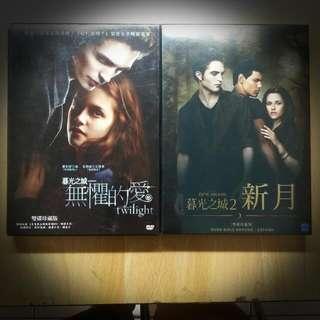 暮光之城DVD 1,2集