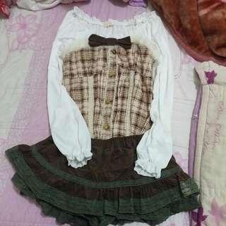 🎀公主風格上衣+褲裙🎀