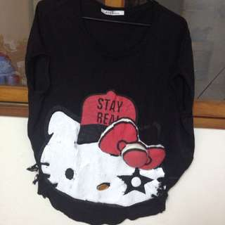 Hello Kitty立體蝴蝶結短袖