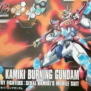 HGBF 1:144 Kamiki Burning Gundam
