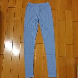 彈性透氣內搭褲(全新,嫩藍色)