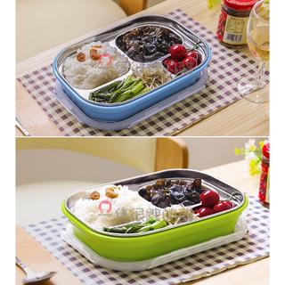 【回饋促銷】 304不鏽鋼/便當盒/餐盒/飯盒/保溫盒/顏色跟圖案隨機。