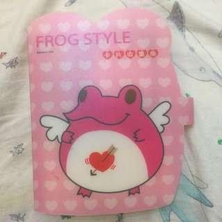 日本Frog Style 百變蛙 卡片收集冊