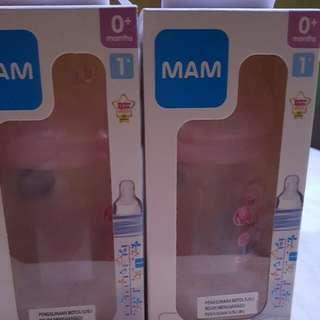 Brand New MAM milk bottles (0 Months)