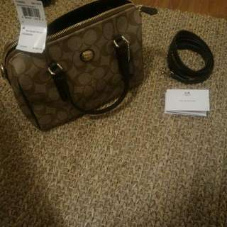 Coach Peyton Bennett Mini Satchel - Authentic With Tag