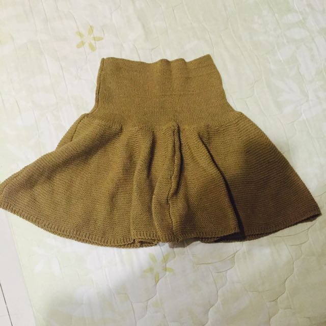 全新針織短裙
