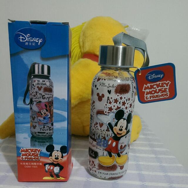 [免運🎉全新]迪士尼米奇萬花筒隨手瓶