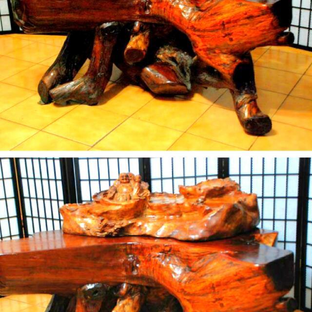 紅豆衫桌子+五張椅子