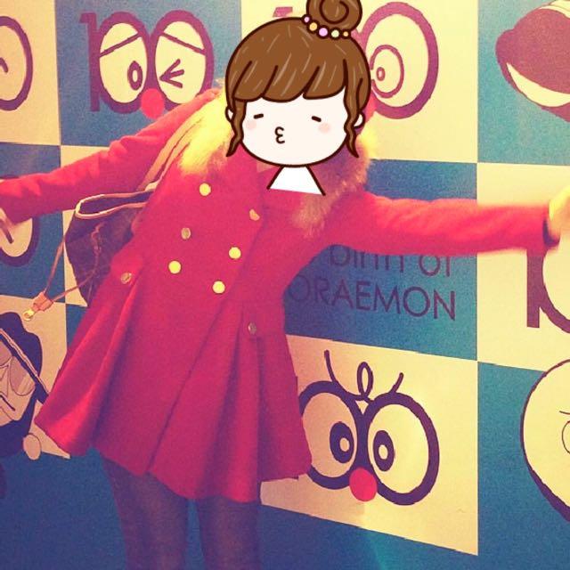 #新春五折 洋裝式大衣