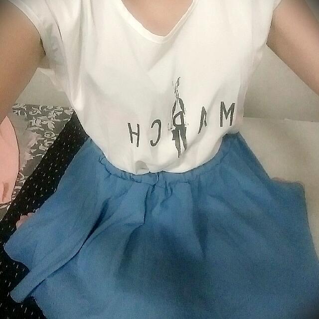 地中海風配色甜美連身裙
