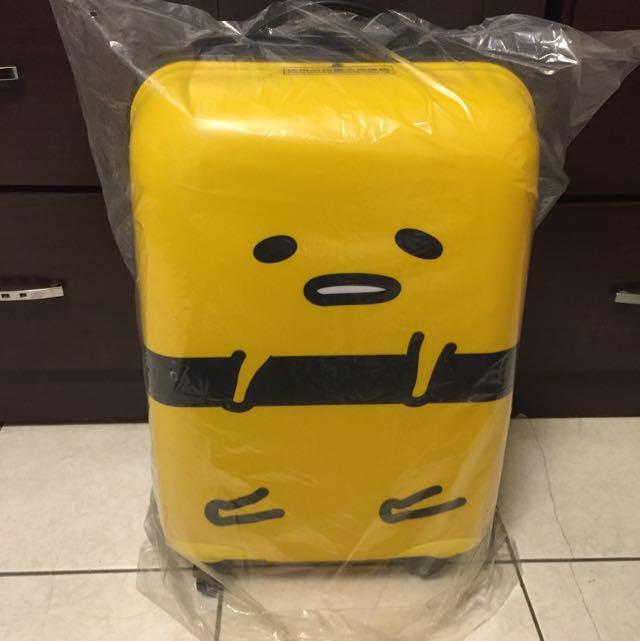 (全新)屈臣氏 蛋黃哥18吋登機行李箱