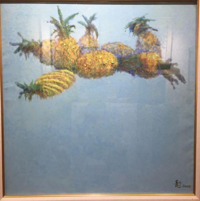姜長弓 30號 油畫