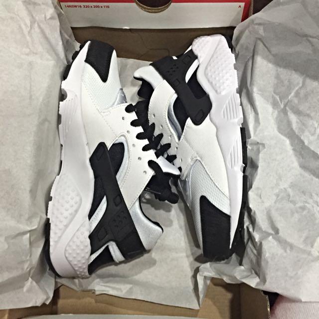全新正品 Nike huarache 熊貓配色🐼 黑白武士鞋