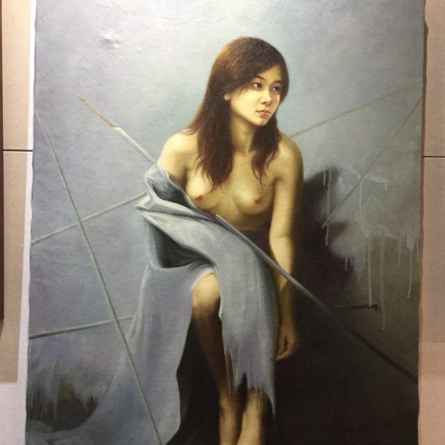 黃瑋君 油畫 裸女