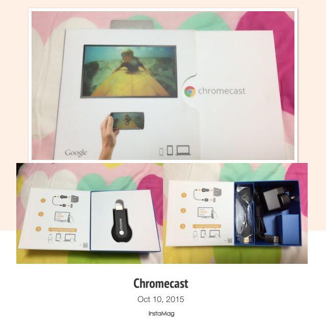 Chromecast (Almost Brand New)