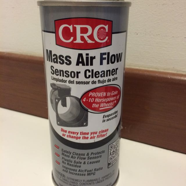 CRC mass Air Flow Sensor Cleaner Brand New Maf, Car