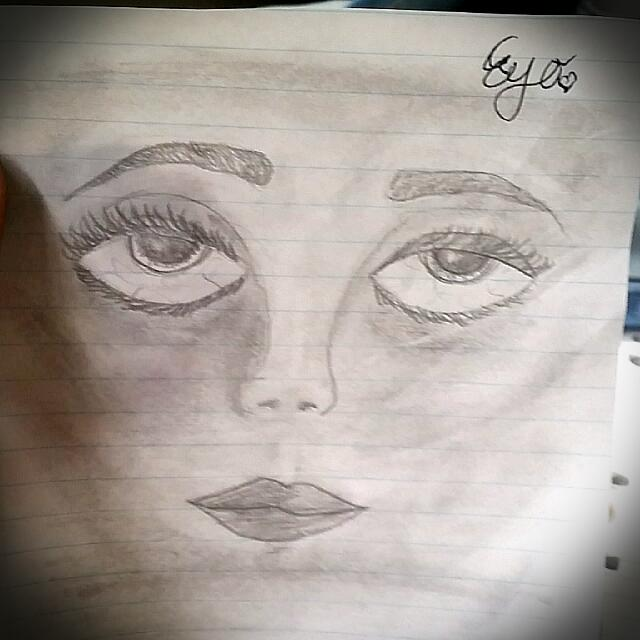 Drawing Of Face