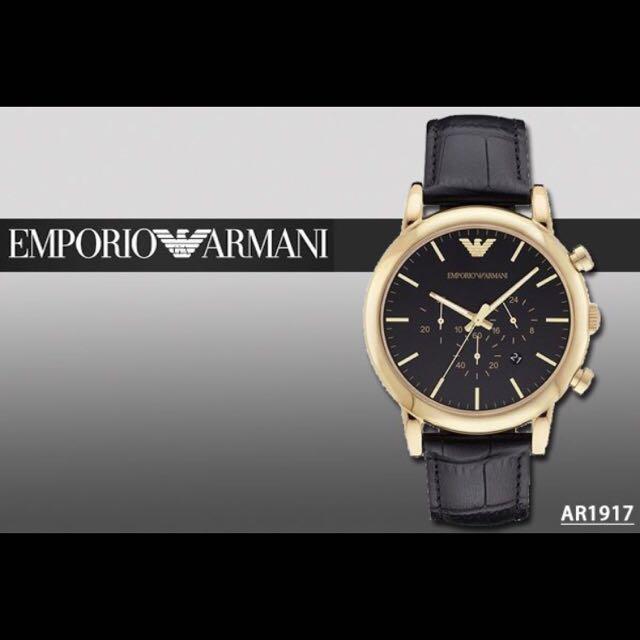 EMPORIO ARMANI 亞曼尼 AR1917  專櫃8折代購