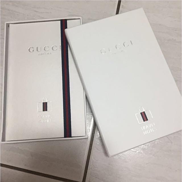 Gucci 質感品味筆記本
