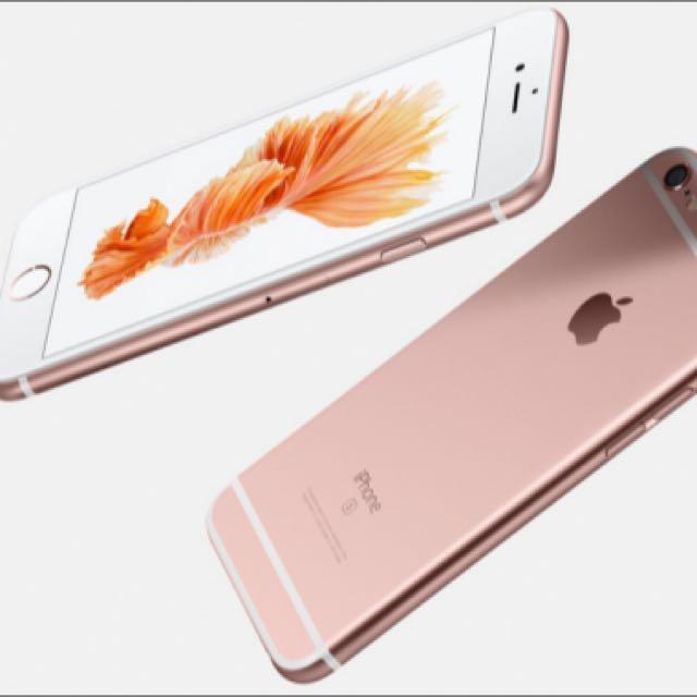 I phone6s Plus 16G玫瑰金(全新未拆封)