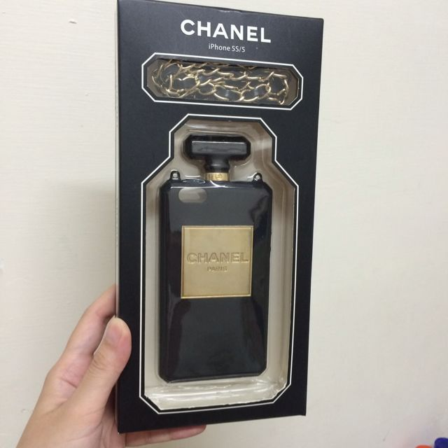 iphone5/5s香奈兒造型殼