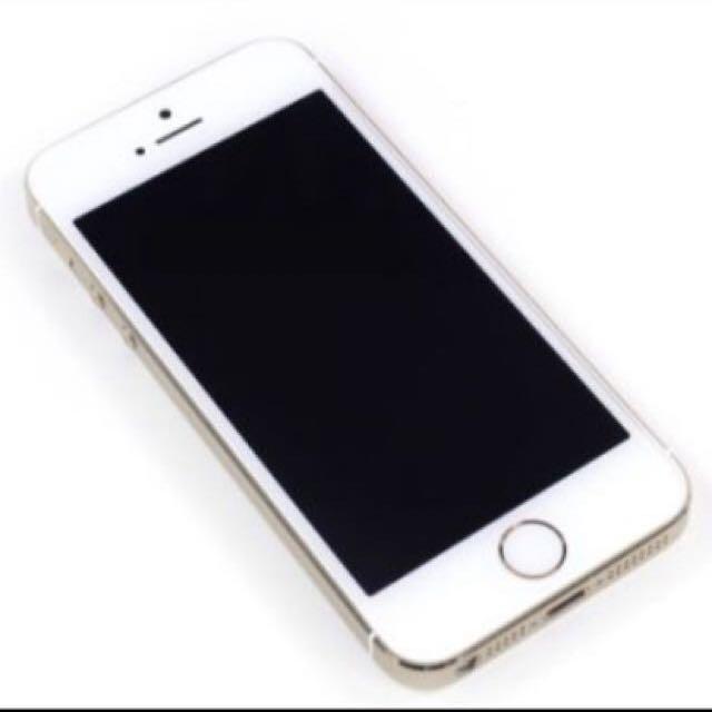 iPhone 5s 金色 16G