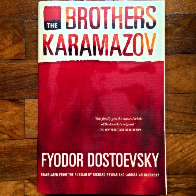 The Brothers Karamazov, Books & Stationery on Carousell