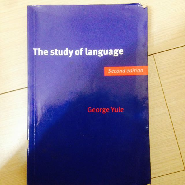 外文系必讀The Study Of Language-Second Edition