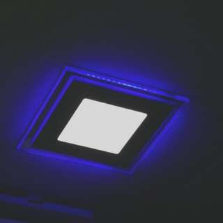 (Sealed) Brand New LED 2 Tone Light (Super White) ROUND shape X 5pcs