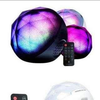 創最低價☺(全新/預購)LED七彩喇叭/音響
