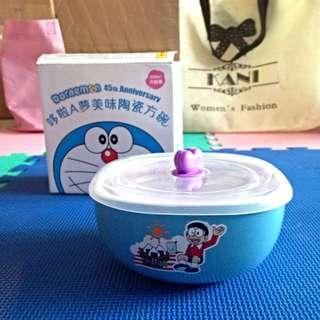 (全新附盒)哆啦A夢美味陶瓷方碗