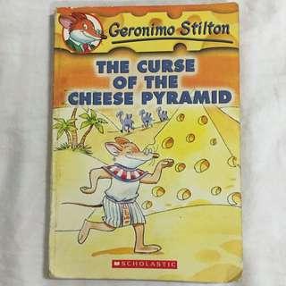 Book: The Curse Of The Cheese Pyramid - Geronimo Stilton