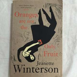 Book: Oranges Are Not The Only Fruit - Jeanette Winterson