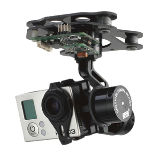 DYS 3 axis SMART Gopro 3 Brushless Gimbal with motor and gimbal controller