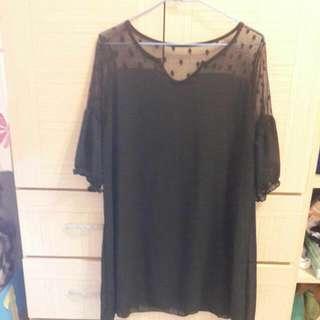 (全新)Miu Star 黑色氣質洋裝(#好秋服飾)