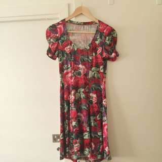 Review Floral Summer Dress