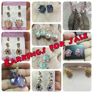 Earrings 3 for $5