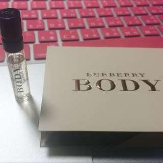 Burberry body 小香 2ml 隨身瓶 試管香水 小香水