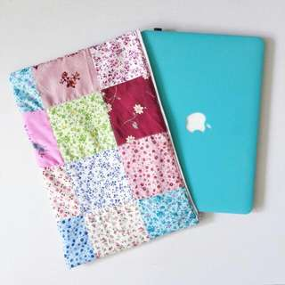 Handmade Patchwork Laptop Sleeve ** ONE & ONLY **