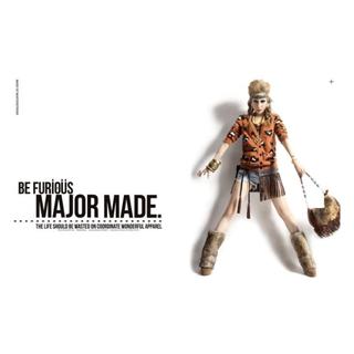 Major Made. FURY LEOPARD CARDIGAN-S號