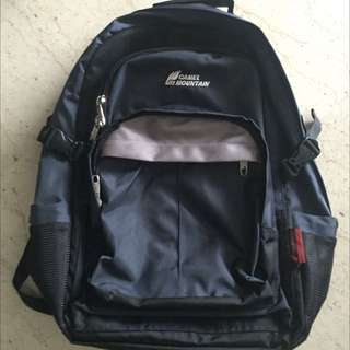 Camel Mountain Backpack (Navy Blue)