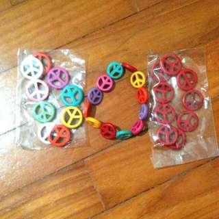 Colorful Peace Bracelet