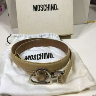 Moschino皮帶(駝色)