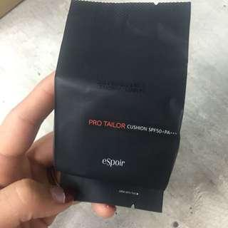 韓國 eSpoir 氣墊粉餅 蕊芯 Ivory Warm  一個 全新正品 韓國代購 現貨