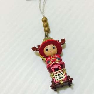 航海王、京都限定喬巴手機吊飾