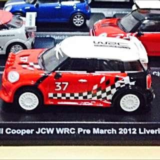 7-11 Mini Cooper紅白迴力款