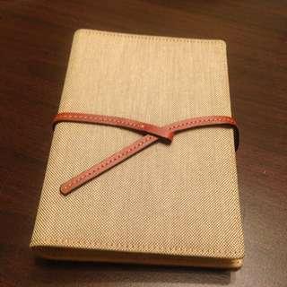 帆布皮革筆記本