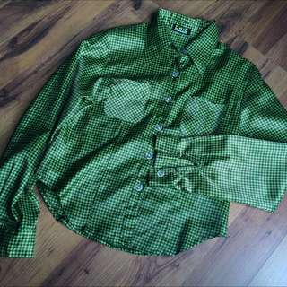 Green Chic Avenue shirt