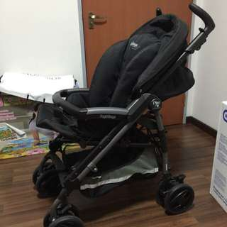 Peg Perego P3 Compact Stroller And Car Seat